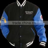 Custom Leather Varsity Jackets for men