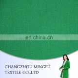 Bright Color Green Solid Boiled Wool Fabric, twill fabric, for inter coats and suit