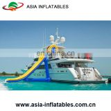 Excellent Design Inflatable Yacht Slide/Luxury Boat Yacht Water Slide For Boat
