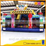 AOQI funny inflatable toys Dr.Science fun city kids games cheap inflatable fun city with free EN14960