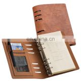 promotion office PU leather planner organizer notebook NOTEBO918