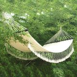 Lace Tassels Canvas Hammock with Size 200*150cm
