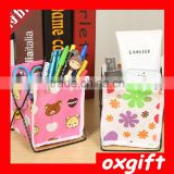 Oxgift Mini debris rack / non-woven Desktop Storage Box /Foldable Multifunction Makeup Cosmetic Sundry Pouch