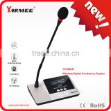 Yarmee YCU892 high quality professional wireless microphone sysytem with OLED panel display