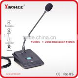 Professional conference table microphone video conference discussion system lead meet