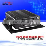 Popular 4ch hdd dvd recorder bus mobile dvr automotive recorder 128g sd recorder video for car