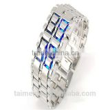 Plastic iron samurai led watch/Gold iron samurai led watch                                                                         Quality Choice
