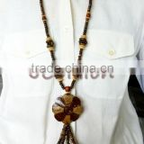 Coconut Shell Bead Necklace jewelry Whloesale Fashion