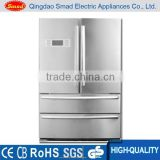 Home large beverage Auto defrost french door refrigerator and Freezer