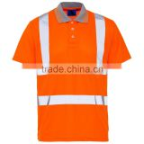 Hi Vis Bird Eye Polo Shirt