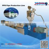 Plastic PPR Cold/Hot Water Supply Pipe Extrusion Machinery