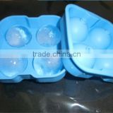 BPA Free 100% Food Grade Silicone Ball Shape Ice Cube Tray,Silicone Ice Ball Mold Maker,Round Ice Ball Mold