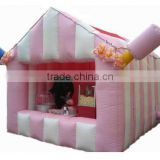 Small inflatable bar tent for sale/ inflatable canteen tent/ inflatable M-store