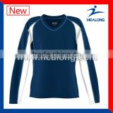 Best Quality China Team Set Volleyball Jersey For Promotional