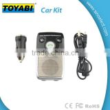 Solar Bluetooth Handsfree Car Kit Support Two Phones with Separate Speaker and Multipoint