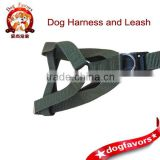 Army green chest rope pet dog harness leash pet rope belt suits wholesale military chest strap