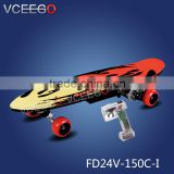 Awesome gorgeous ss body parts skateboard with brushless motor hight quality