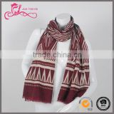 Hot sale new design fashion jacquard cotton/polyester fashionable cheap arab scarf for women