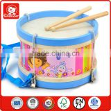 kids play toys brand goods lience oriental music instrument drum roundness wooden drum pad musical instruments dora