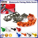BJ-Screws-2003 CNC Streetbike Key Fairing Bolts Clips Fairing Kit Aluminum Nut and Bolt Motorcycle Fairing Screw