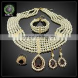 2016 New Arrival African bead Jewelry set which for Wedding jewelry set Match Clothes BHK641