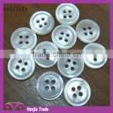 Spot supply natural shell buttons/freshwater shell button/flat shell button                                                                         Quality Choice