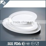 Good quality classic round microwave & dishwasher safe wholesale white ceramic dinnerware