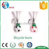 Customize football shape air pressure horn for boy, Kids Bike Accessories