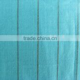 cotton ramie yarn dyed fabric 60/2x21 68x66
