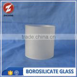 fused high quality cylinder forsted glass tube