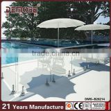 hot sell decorative swimming pool safety glass fence