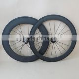 700C Chinese bike fixed gear wheels 88mm clincher wheels for track bike Novatec fixed gearhub