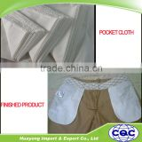 Factory price 100% polyester poplin pocket lining fabric jean's/pant's pocket fabric