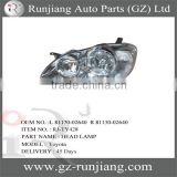 Lighting System Head Lamp For Toyota Corolla 2003 OEM.L 81170-02640 R 81130-02640