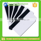 Cr80 credit card size blank magnetic business card                                                                                                         Supplier's Choice