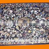 Stone Inlay Dining Table Top, Inlay Stone Table, Stone Table Top