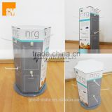 Rotating Cardboard Counter Top Peg Hook POP Display Stands for Retail Shop Display Designed