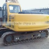 used japan produced komatsu PC120 hydraulic crawler excavator ,PC130 3125 360 excavator great price offered in Shanghai