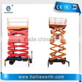 Construction lift Fixed scissor lift One man lift elevator Aluminum hydraulic scissor lift