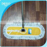 DEGO cangnan factory stainless steel telescopic pole dust mop cotton