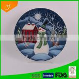 12'' ceramic plate,high quality ceramic plate with full decal,fruit and cake plate