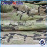 bravo breathable camo printed fabric mesh fabric with flow-air design for military cap/shoes/clothing/tent