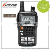 FCC approved LT-303 uvf/vhf 5w 2 way radio