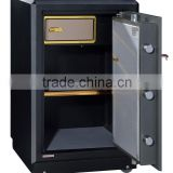 Digital lock bank safe deposit box/two tiers bank safe with drawer inside