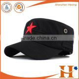 Factory price! hot sale plain army cap flat top cap custom military cap,embroidery army military hats,embroidered round cap                                                                         Quality Choice