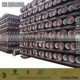 class K9 ductile iron pipe