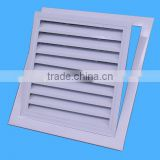 Cheap single leaf aluminum window louver prices for residential house
