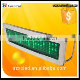 Mini LED P1.85 12*36 name badge /display/sign with scrolling message ,high brightnenss,capacity