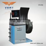 "Top quality automatic car wheel balancer machine with 17"" LCD display and protection cover VT170A"