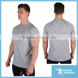 Custom blank dri fit workout performance t shirt seamless stretch fit round neck muscle gym t shirt                                                                         Quality Choice                                                     Most Popular